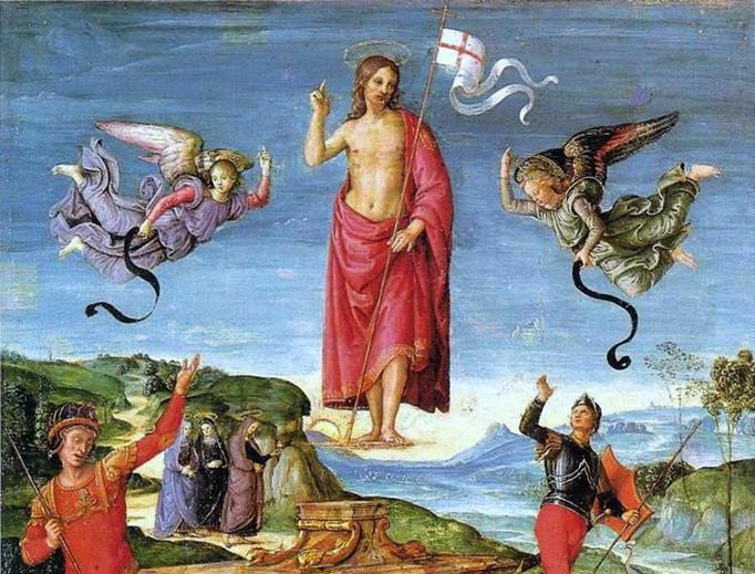 "Raphael (1483-1520), ""The Resurrection of Christ"""