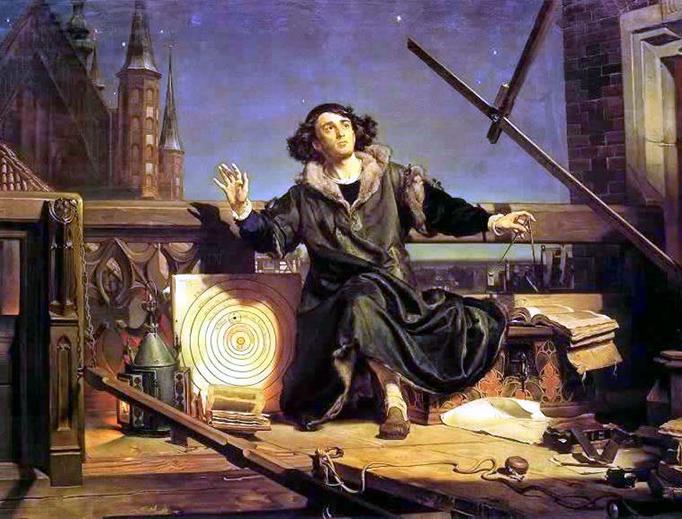 "Jan Matejko, ""Copernicus"" (1872)"