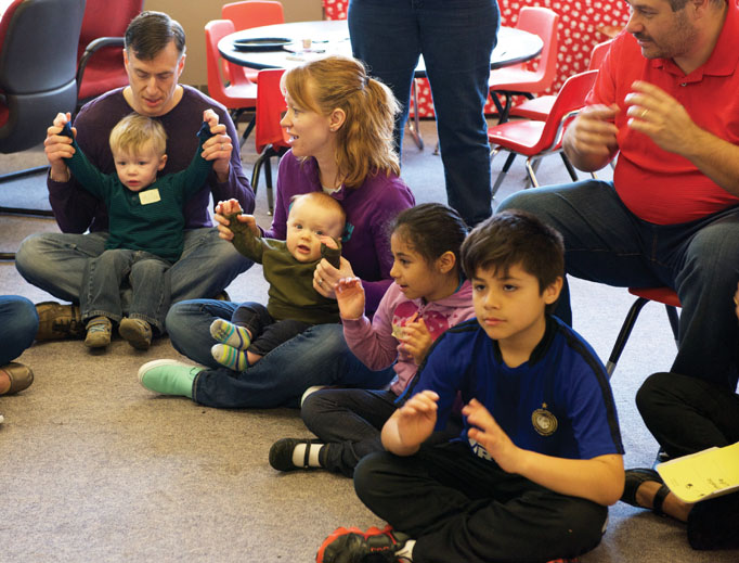 'Early Catholic Family Life' brings parents and their little ones together in a faith-focused community.