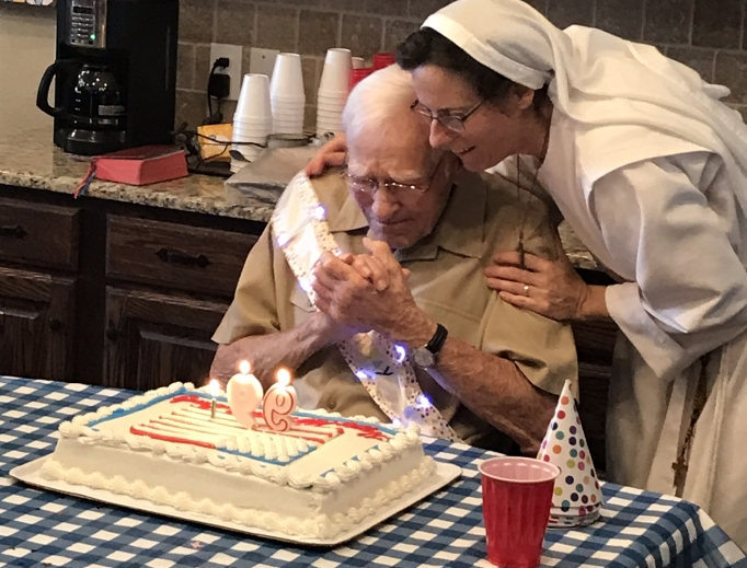 Gospel of Life Disciples + Dwellings (GOLD) take care of the elderly, showing the beauty of life at an older age.