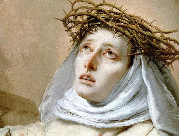 "Giovanni Battista Tiepolo, ""St. Catherine of Siena,"" 1746"