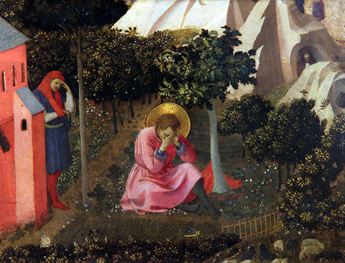 "Fra Angelico (1395-1455), ""The Conversion of St. Augustine"""