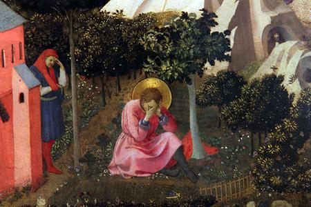 """Fra Angelico (1395-1455), """"The Conversion of St. Augustine"""""""