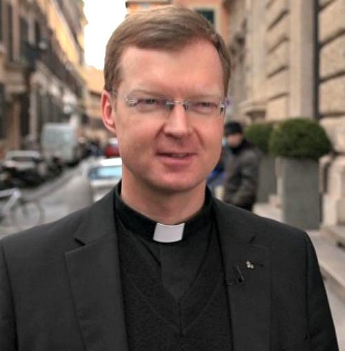 Jesuit Father Hans Zollner
