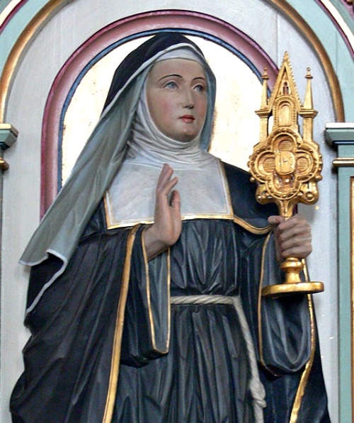 St. Juliana of Liege was instrumental in the establishment of the feast of Corpus Christi.