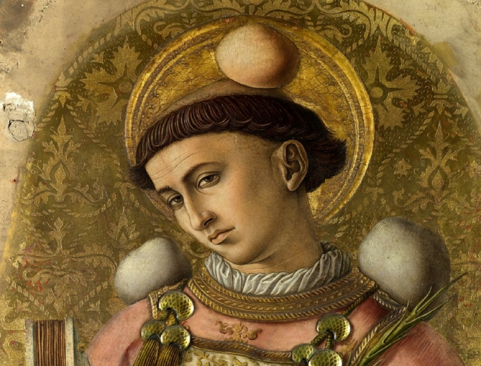 St. Stephen by Carlo Crivelli