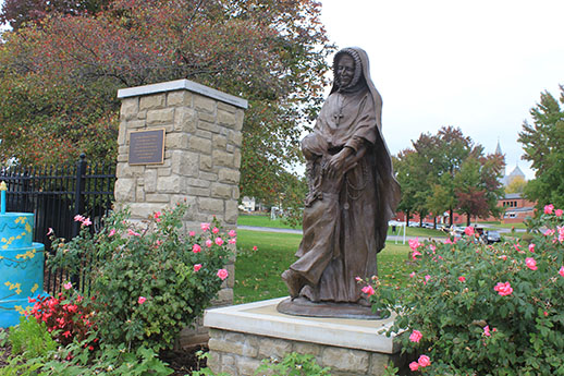 St. Rose statue in St. Charles, Mo.