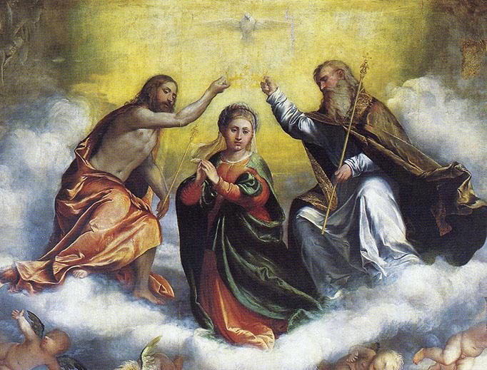 """Girolamo Romani (1484–1566), """"Pala di San Domenico"""""""