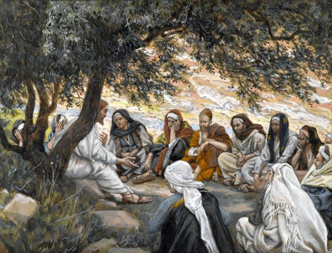 """James Tissot (1836-1902), """"The Exhortation to the Apostles"""""""