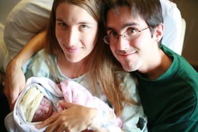 Vivian, Genece and Kyle Cupp.