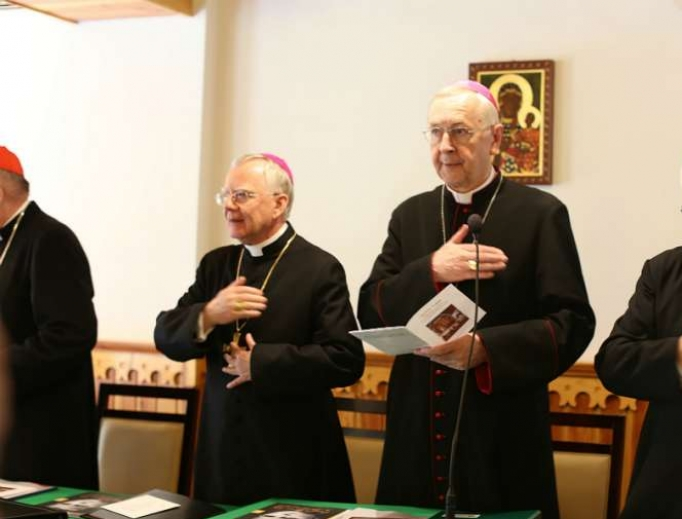 Polish bishops attend their plenary assembly in Zakopane, Poland, in 2017.