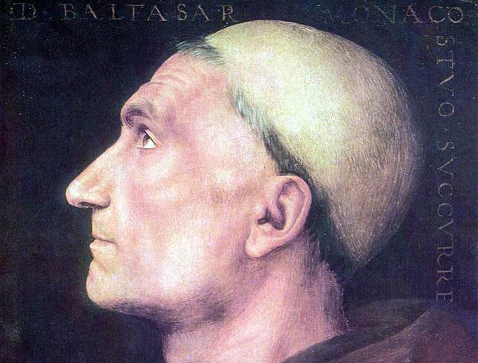 "Pietro Perugino, ""Don Baldassare di Antonio di Angelo"", c. 1499"