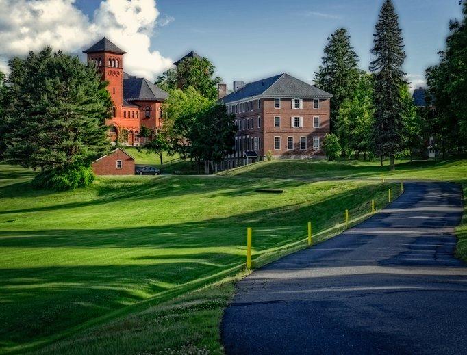 The new Massachusetts campus for Thomas Aquinas College.