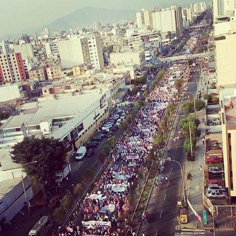 March for Life in Lima, Peru