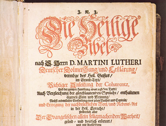 The Calov Bible, from the American Bach Society [Public domain]
