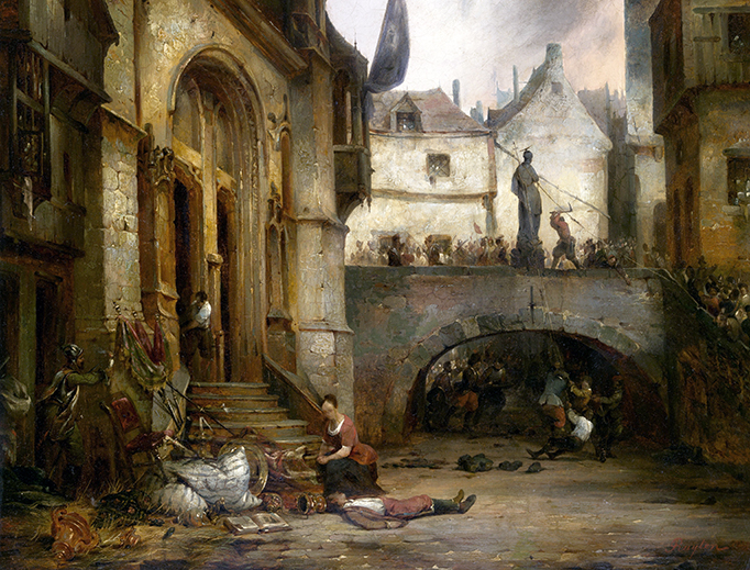 "Jean Michel Ruyten (1813-1881), ""The Iconoclasts"""