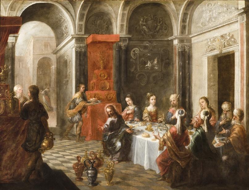 """Matias de Arteaga (1633-1703), """"The Wedding at Cana"""""""