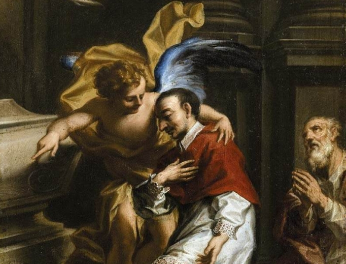 St. Charles Borromeo is included in this new homily compilation.