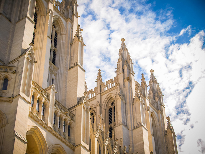 National Cathedral, the official cathedral of the Episcopalian Diocese of Washington