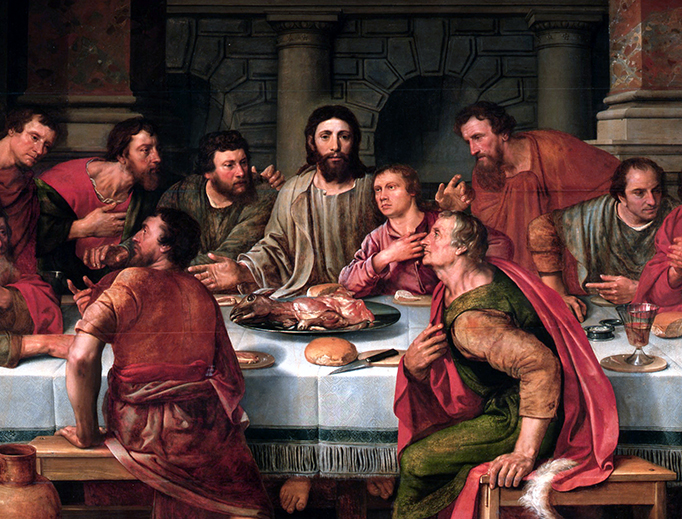 """Willem Key (1515-1568), """"The Last Supper"""""""