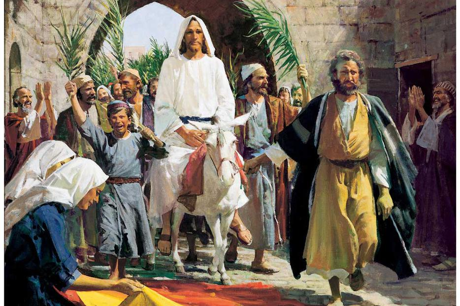 Why is Jesus' entry into Jerusalem so important? What is going on here?