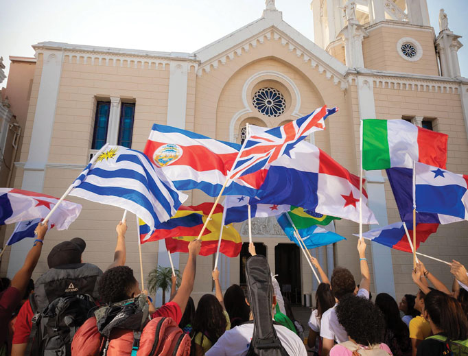 Young people are excited for WYD 2019, which will take place Jan. 22 to 27 in Panama.