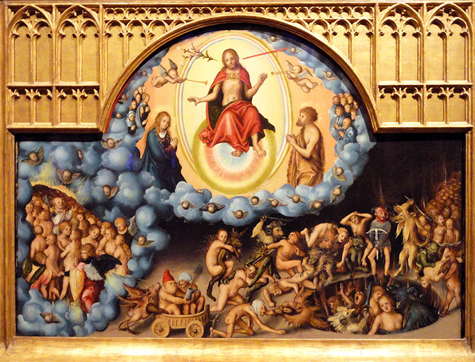 "Lucas Cranach the Elder (1472-1553), ""The Last Judgment"""