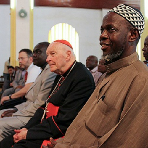 Cardinal Theodore McCarrick meets with religious leaders in the Central African Republic to discuss possible solutions to end recent violence.