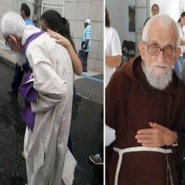 95-year-old priest Friar Roberto