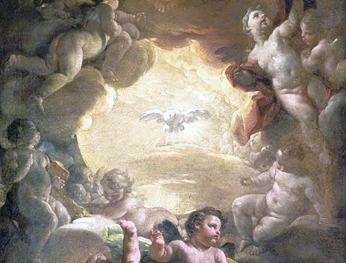 """Corrado Giaquinto, """"The Holy Spirit"""", ca. 1755"""