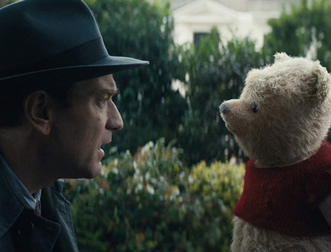 Christopher Robin reunites with Winnie the Pooh in new Disney film.