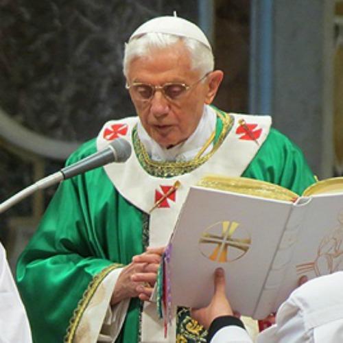 Pope Benedict XVI in 2012