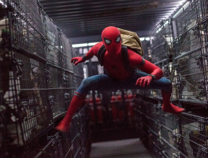 Tom Holland stars as the newest Spider-Man.