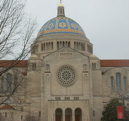 Basilica of the National Shrine of the Immaculate Conception in Washington