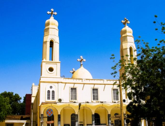 Coptic Orthodox Church in Khartoum, Sudan.