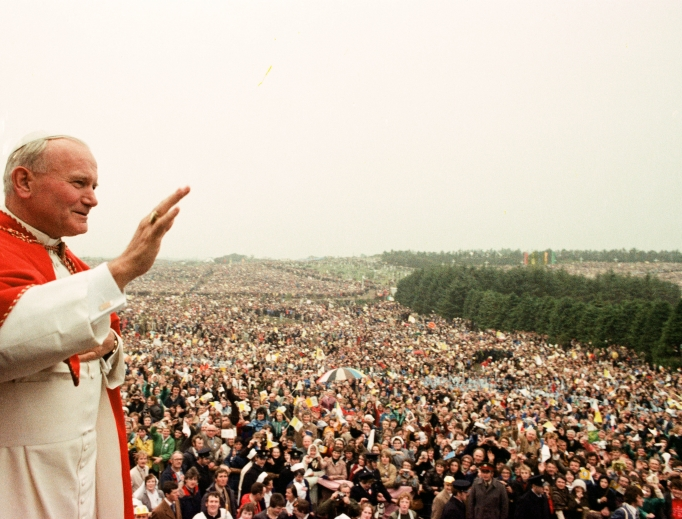 Pope John Paul II made a historic visit to Ireland in 1979.