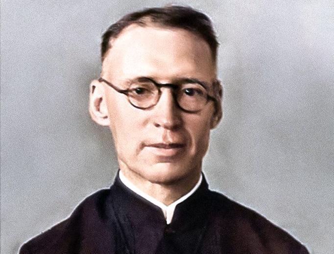 Brother Norbert McAuliffe in 1941