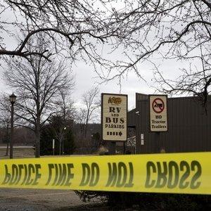 Cracker Barrel where a gunman went on a shooting rampage in Kalamazoo, Mich.