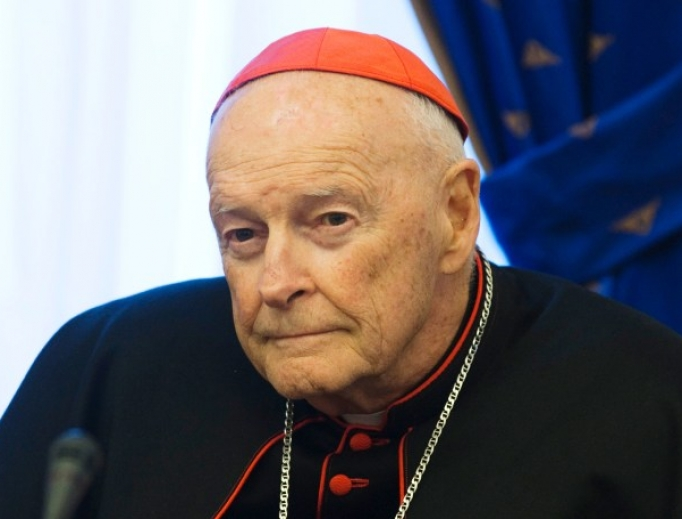 Theodore McCarrick, the former Archbishop of Washington who was dismissed from the clerical state in February, 2019.