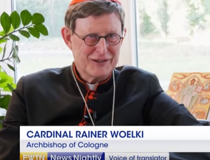 Cardinal Rainer Maria Woelki, the archbishop of Cologne, is an outspoken defender of Church doctrine.