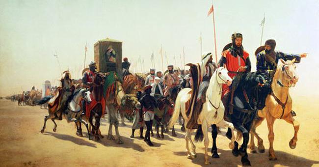 "James William Glass, ""Richard, Coeur De Lion, On His Way To Jerusalem"" (c. 1850)"