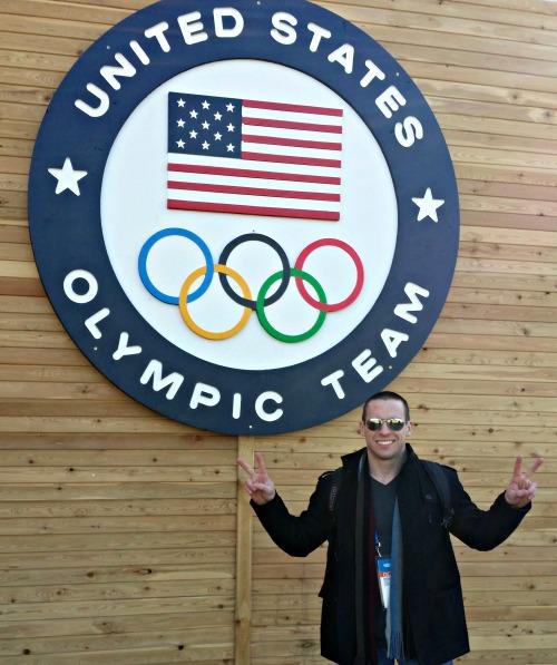 Matt Hicks in Sochi.
