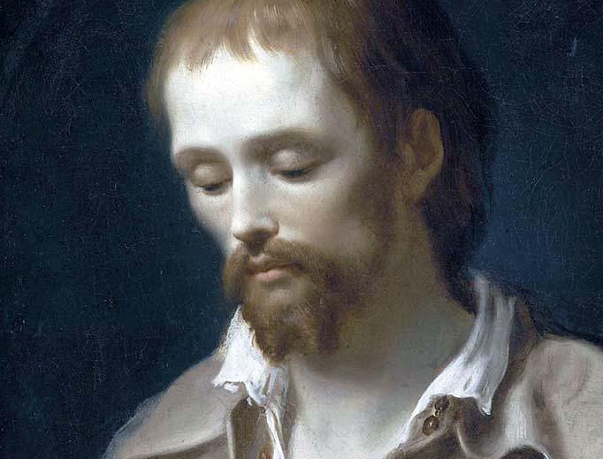 """Antonio Cavallucci, """"San Benedetto Giuseppe Labre,"""" 1795"""