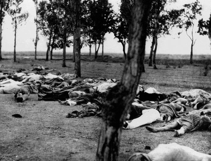Armenians killed during the Armenian Genocide.