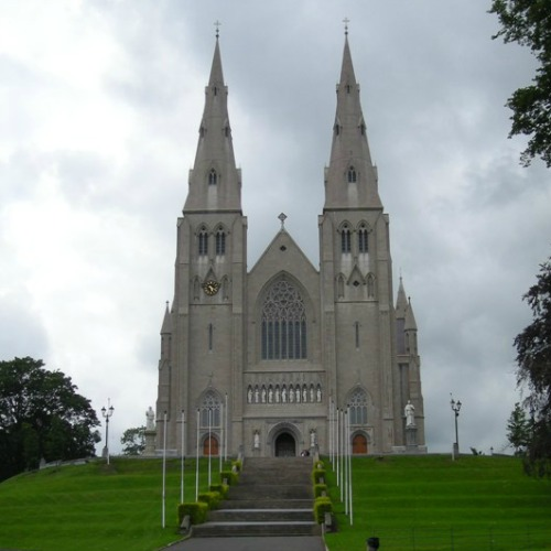 St. Patrick's Cathedral in Armagh, seat of the archbishop of Armagh, primate of all Ireland.