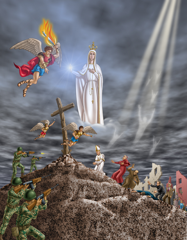 """The """"Third Secret"""" of Fatima is the most famous private revelation of the 20th century. Here are 9 things to know and share with friends about it . . ."""