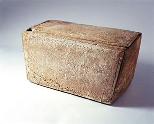 The alleged ossuary of Jesus.  Quickly proven to be a forgery.