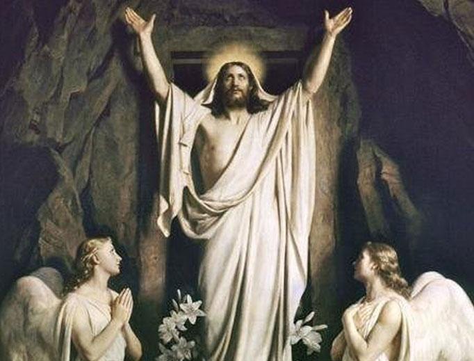 Resurrection of Christ by Carl Bloch