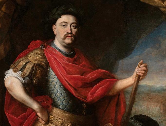 "Daniel Schultz, ""Portrait of John III Sobieski in Roman Costume,"" after 1680"