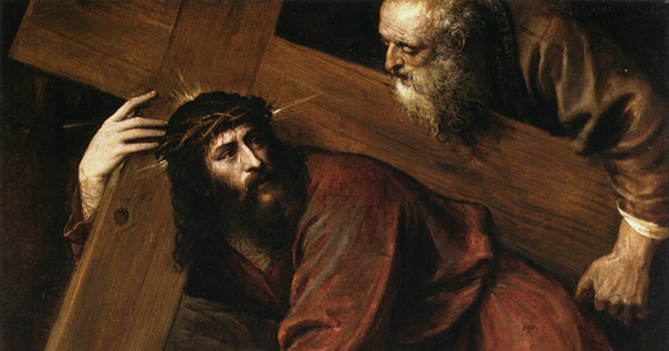 """Titian (1490–1576), """"Christ Carrying the Cross"""""""